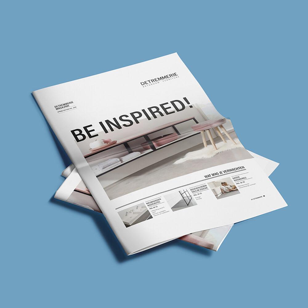 Inspiratiebrochure met de focus op beleving