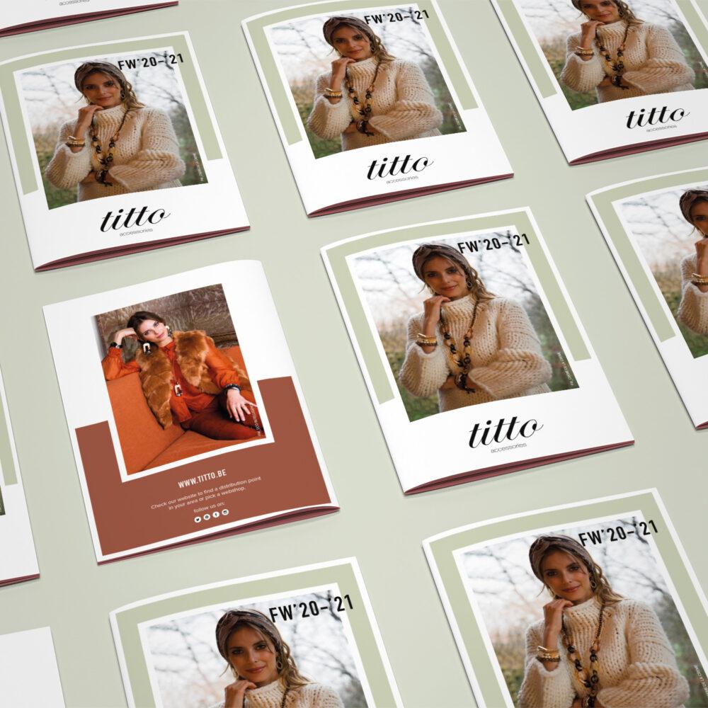 Stijlvol en elegant de winter in | Minibrochure Titto