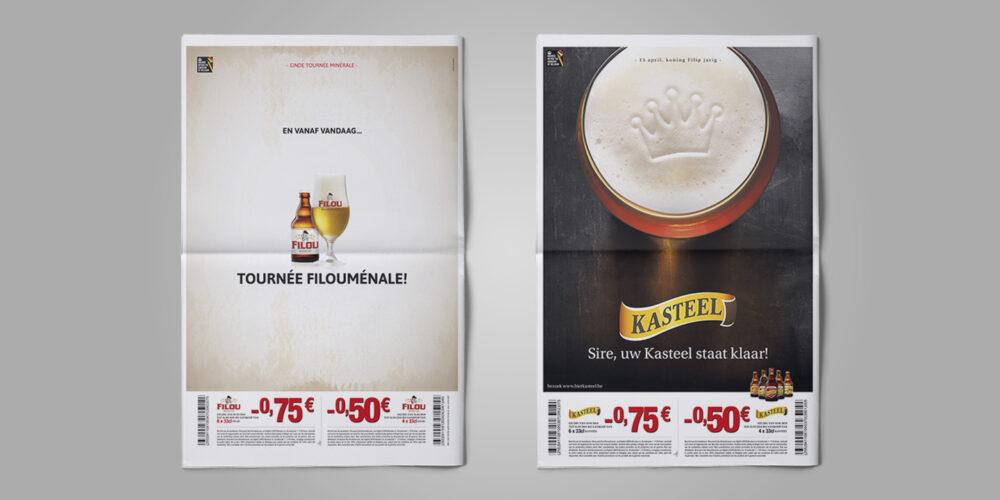 Visual als vaste grafische partner voor brouwerij Vanhonsebrouck