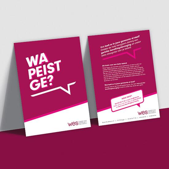 Campagne gericht op het nieuwe stadsbestuur van steden en gemeenten