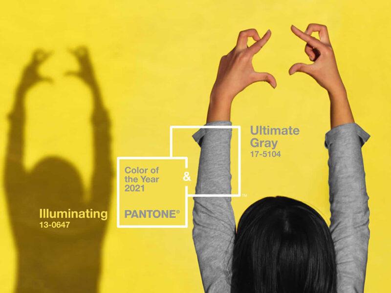 Pantone kiest de kleuren voor 2021