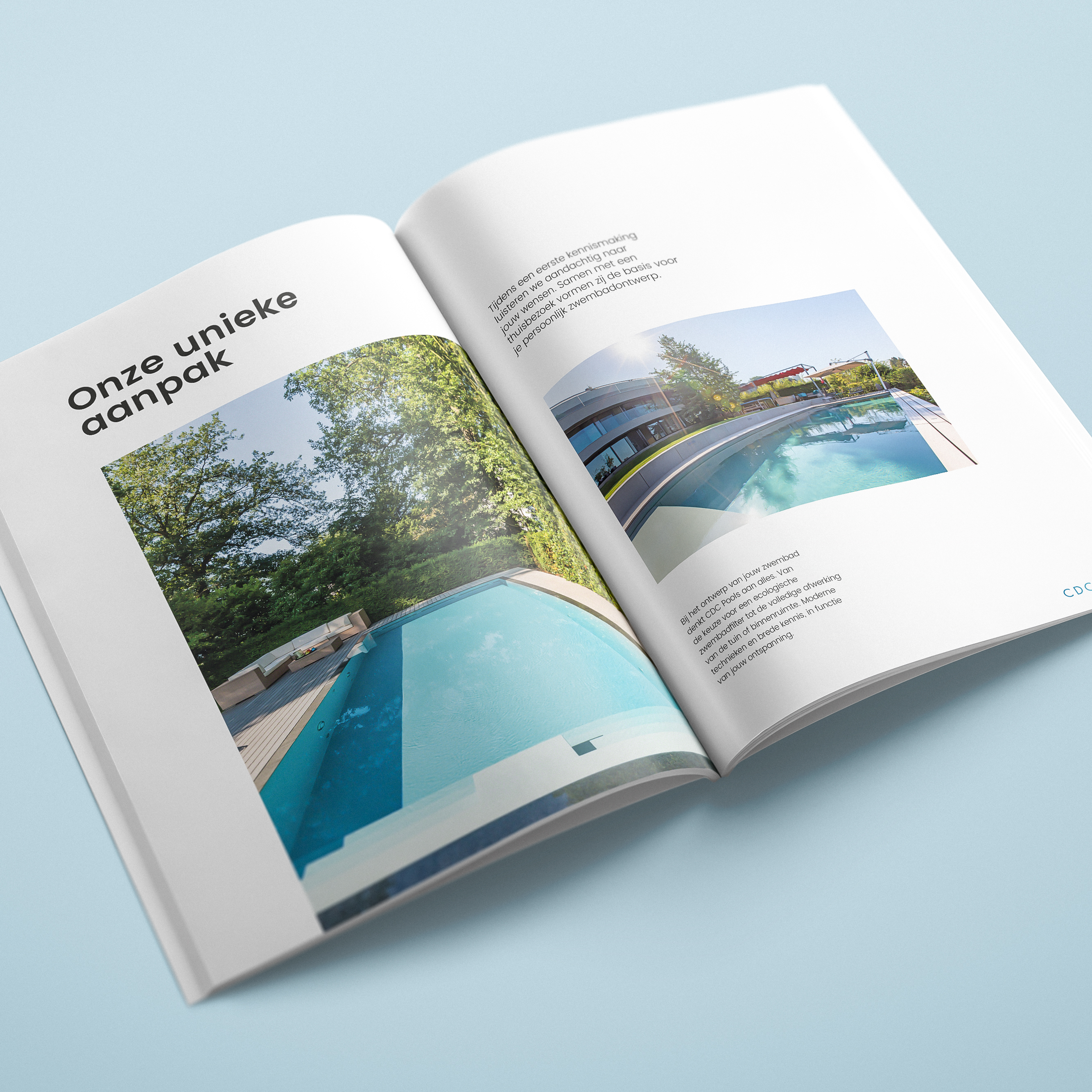 brochure zwembaden CDC Pools